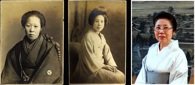 歴代女将の顔写真